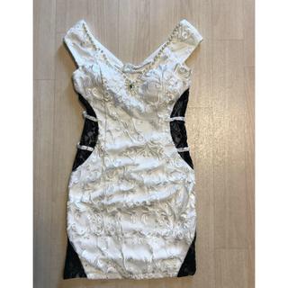dazzy store - mydress👠キャバ白ドレス