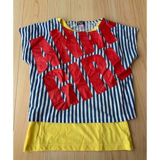 アナップキッズ(ANAP Kids)のTシャツ&タンクトップセット ANAP Sサイズ(Tシャツ/カットソー)