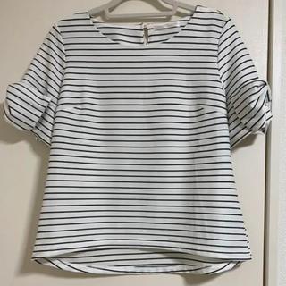 シマムラ(しまむら)のトップス ボーダー(Tシャツ/カットソー(半袖/袖なし))