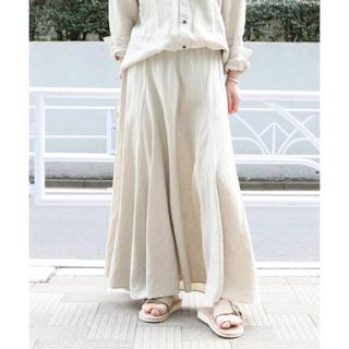 Plage - ♡新品♡ Plage Linen フレアスカート