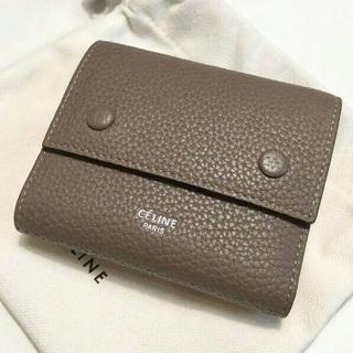 CELINE セリーヌ コンパクト三つ折りミニ財布