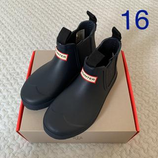 ハンター(HUNTER)のハンター HUNTER キッズ レインシューズ 長靴 16 17(長靴/レインシューズ)