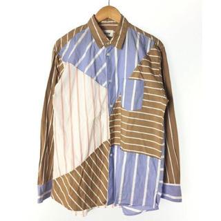ジエダ(Jieda)のkudos blue print shirt  2(シャツ)