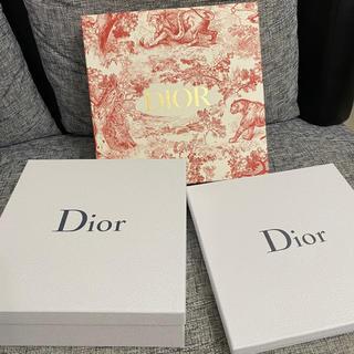 ディオール(Dior)のDior・空箱3つセット(ショップ袋)