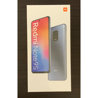 ANDROID - 【新品 国内版】Xiaomi Redmi Note 9S  6GB/128GB