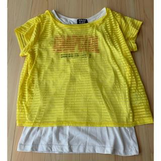 アナップキッズ(ANAP Kids)のTシャツ トップス セット ANAP Sサイズ(Tシャツ/カットソー)