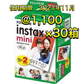 フジフイルム(富士フイルム)の新品未使用品 チェキ フィルム 600枚(20枚×30箱) instaxmini(フィルムカメラ)