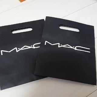 マック(MAC)のM・A・C ショップ袋(ショップ袋)
