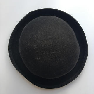 ユニクロ(UNIQLO)のユニクロ ボーラーハット ハット 黒 ブラックで(ハット)