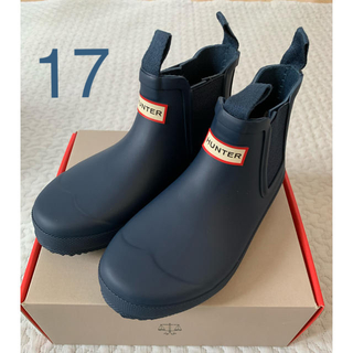 ハンター(HUNTER)のハンター HUNTER キッズ レインシューズ 長靴 17 18(長靴/レインシューズ)