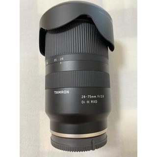 TAMRON - tamron タムロン 28-75mm F/2.8 Di III RXD