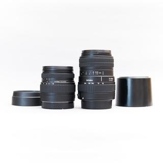 SIGMA - SIGMA 18-50mm F3.5-5.6 / 55-200mm F4-5.6