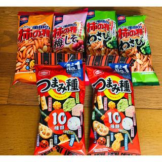 カメダセイカ(亀田製菓)の柿の種 亀田製菓 つまみ種入り(菓子/デザート)