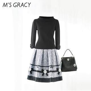 M'S GRACY - クーポン中お値下げ☆ 新品 エムズグレイシー  スカート 今期