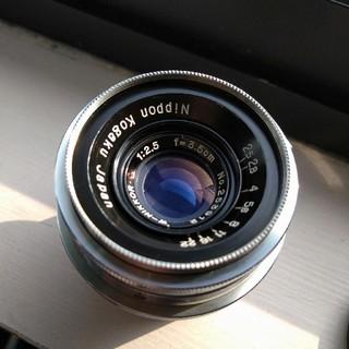 ニコン(Nikon)の美品 ニコン w ニッコール 1:2.5 35mm  広角 35mmf2.5(レンズ(単焦点))