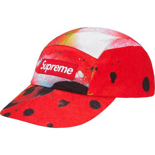 Supreme - Supreme Long Bill Camp Cap ラメルジー 赤 M/L