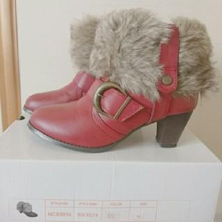 ヌォーボ(Nuovo)のファー付き♡ブーツ(ブーツ)