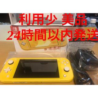 Nintendo Switch - 利用少 美品 Nintendo Switch Lite イエロー 黄色 本体