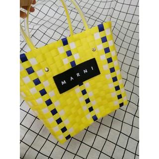 Marni - 新品同様!マルニ MARNI  ハンドバッグ ピクニックバッグ