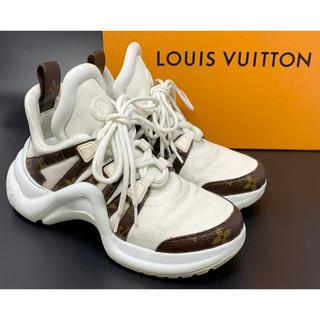 LOUIS VUITTON - LOUIS VUITTON☆アークライト ラインスニーカー モノグラム LVロゴ