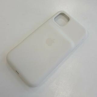 アップル(Apple)のiPhone11 純正バッテリーケース ホワイト 超美品(iPhoneケース)