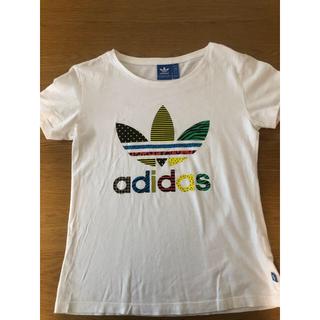 adidas - オリジナスル白Tシャツ