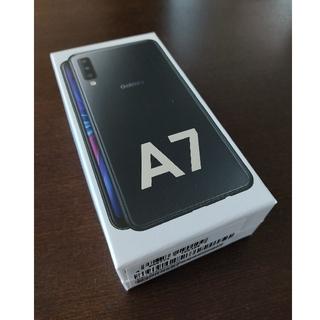 Galaxy - Galaxy A7 ブラック 64 GB SIMフリー