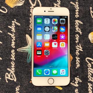 アイフォーン(iPhone)の美品 simフリー iPhone6s 16gb ローズゴールド  AU 3.(スマートフォン本体)
