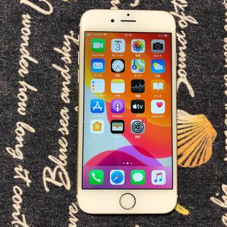 アイフォーン(iPhone)の美品simフリー iPhone6s 16gb バッテリー94% ゴールド 4.(スマートフォン本体)