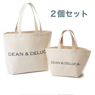 ディーンアンドデルーカ(DEAN & DELUCA)の2個セット‼️ DEAN&DELUCA トートバッグ natural L&S(トートバッグ)