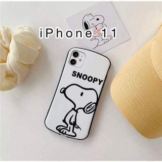 スヌーピースマートフォン用ケース軽量スリム薄型傷防止iPhone11