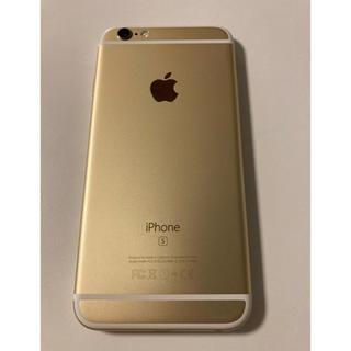 アップル(Apple)のiPhone 6S ゴールド 128 GB SIMフリー 本体(スマートフォン本体)