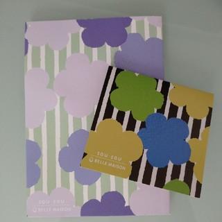 ソウソウ(SOU・SOU)の☆SOU・SOU × ベルメゾン メモ帳&付箋のセット(ノート/メモ帳/ふせん)
