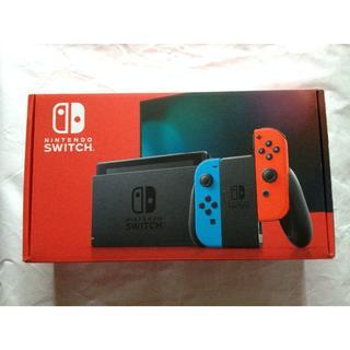 任天堂 - 新品 Nintendo Switch 本体 Joy-Con ネオンブルー レッド