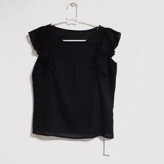 PROPORTION BODY DRESSING - 新品 プロポーションボディードレッシング フリルブラウス ブラック定価7040円