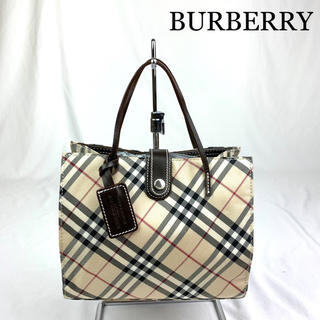 BURBERRY - 美品 BURBERRY バーバリー 定番チェック ハンドバッグ