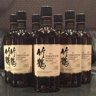 ニッカウヰスキー - 竹鶴 ピュアモルト700ml 新ボトル8本セット新品未開封