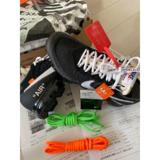 OFF WHITE VAPOR MAX THE TEN NIKE