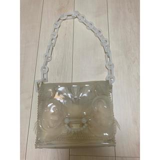 mame - mame kurogouchi PVCチェーンバッグ