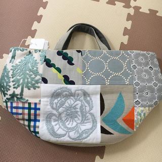 mina perhonen - 新品タグ付き ミナペルホネン  ピースバスケット バッグ