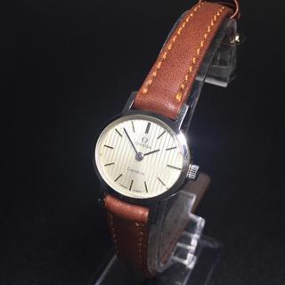 オメガ(OMEGA)の【可動品 正規品】オメガ 腕時計 ジュネーブ 手巻き OMEGA レディース(腕時計)