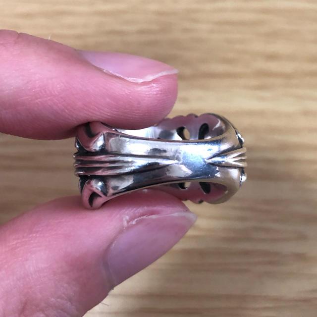 Chrome Hearts(クロムハーツ)の【hiroさん専用】chrome hearts k&t リング  美品 メンズのアクセサリー(リング(指輪))の商品写真