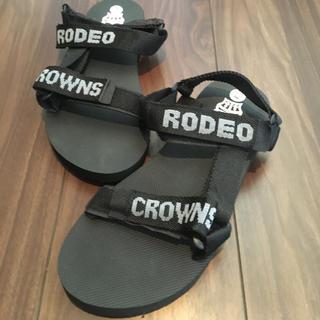RODEO CROWNS - ロディオクラウンズ サンダル ノベルティ Lサイズ