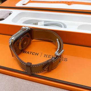 アップルウォッチ(Apple Watch)のアップル Watch エルメス Series 4 44mm MU742J/A(腕時計(デジタル))