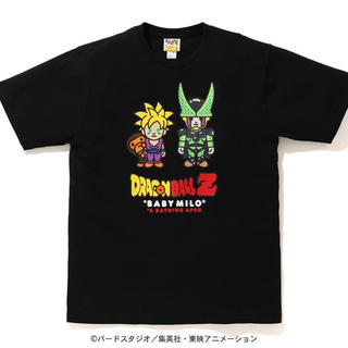 A BATHING APE - BAPE® X DRAGON BALL Z BIG APE HEAD TEE