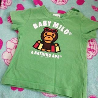 アベイシングエイプ(A BATHING APE)の⑬ベビーマイロ  Tシャツ(Tシャツ/カットソー)