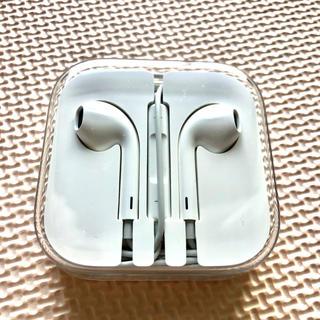 アイフォーン(iPhone)のiPhone イヤホン 純正(ヘッドフォン/イヤフォン)
