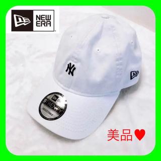 ニューエラー(NEW ERA)のNEWERA ニューエラ ♥︎ 920 帽子 キャップ NY ロゴ ♡ホワイト♡(キャップ)
