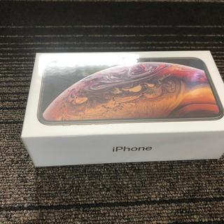 アップル(Apple)のiPhone10s 64GB gold(スマートフォン本体)
