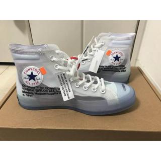 OFF-WHITE -  OFF-WHITE×CONVERSE オフホワイト CHUCK TAYLOR